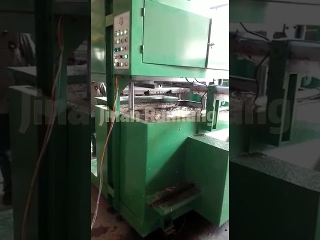 Green Paper Pulp Molding Machine , Paper Egg Tray Making Machine With Computer Control