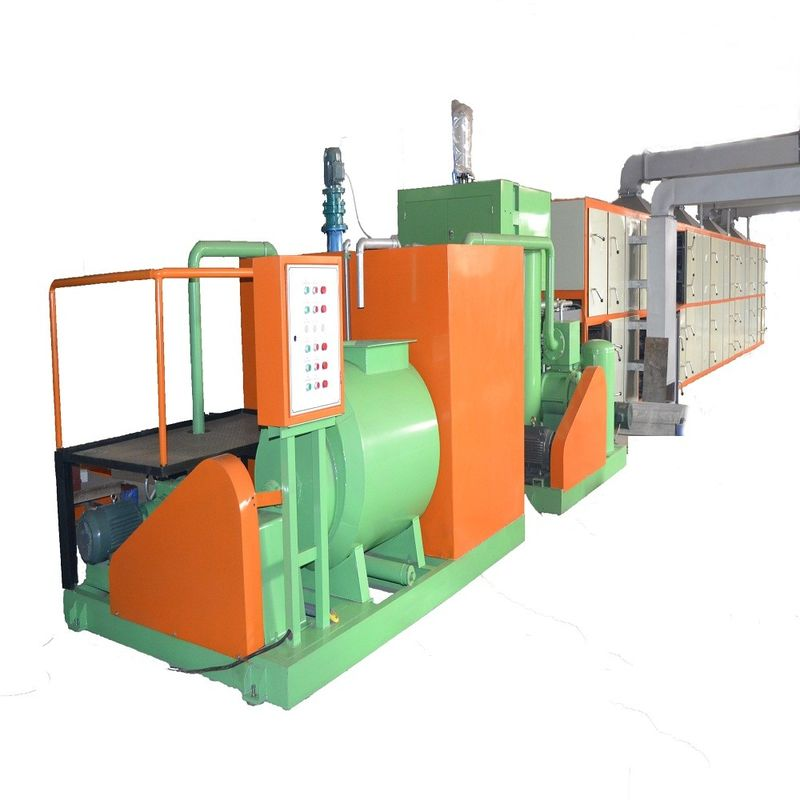 Waste Paper Egg Tray Making Machine / Pulp Molding Equipment Long Life Use