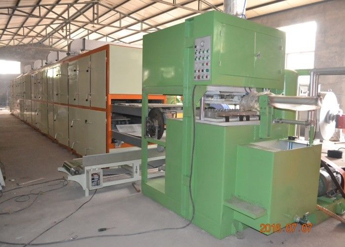 High Efficient Paper Egg Tray Making Machine , Egg Carton Fruit Tray Making Machine