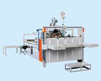 Paperboard / Corrugated Box Gluing Machine Semi Automatic Easy Operation