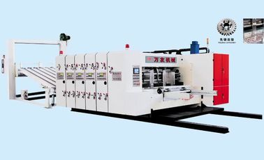 China PLC Control Flexo Printer Slotter Machine For Corrugated Box 2 Colors High Speed factory