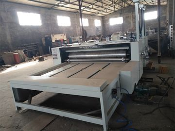 China 2 Colors Print And Die Cut Production Line For Corrugated Boxes Printing factory