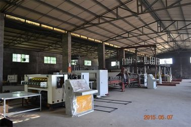 China 3 Ply 5 Ply Corrugated Cardboard Production Line With 150m/min-180m/min Speed factory