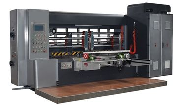 China PLC Control Printer Slotter Machine For Corrugated Carton Box Printing factory