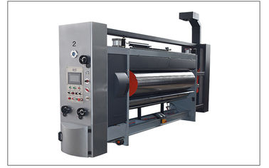 China High Speed Printer Slotter And Die Cutter 2 Colors 3 Colors For Corrugated Carton factory