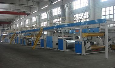 China 3 - 7 Layer Corrugated Cardboard Production Line / Corrugated Box Making Equipment factory