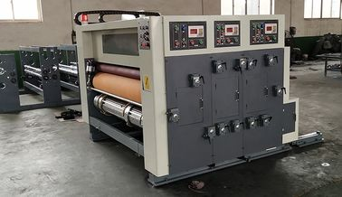 China Corrugated Cardboard Flexo Printing Slotting Die Cutting Machine 4 Color Automatic factory