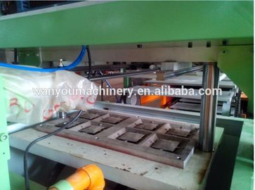 Low Noise Paper Egg Tray Machine , Egg Box Making Machine Paper Apple Tray Making