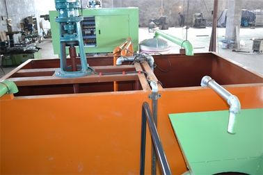 China Paper Egg Tray Forming Machine , Semi Automatic Egg Tray Machine Controlled By Computer factory