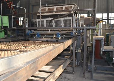 China Paper Egg Carton / Tray Making Machine , Durable Fruit Tray Making Machine factory