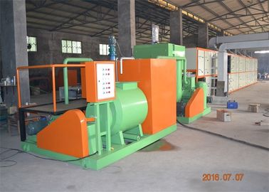 PLC Control Paper Egg Tray Machine Pulp Molding Machine Easy Operation