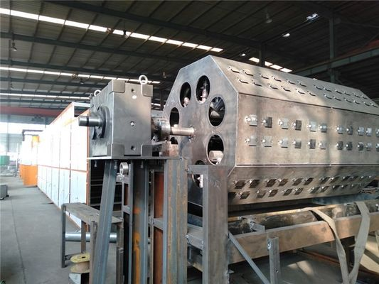 6000pcs/Hour Wood Pulp Paper Tray Forming Machine For 6 Worker